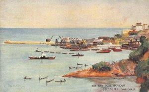 Ghana Gold Coast Sekondi The Old Boat Harbour Postcard