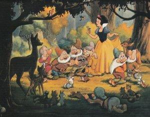 DISNEY ; Snow white & Seven Dwarfs , 80-90s