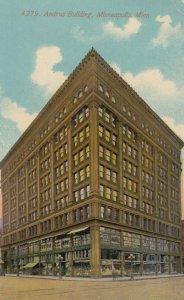 MINNEAPOLIS , Minnesota , 1900-10s ; Andrus Building
