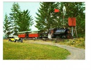 Railway Train, Forest Museum, Duncan, British Columbia