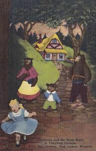 Coldilocks And The Tree Bears In Fairyland Cavern City Gardens Atop Lookout M...