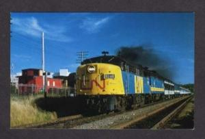 NS Canadian National Railroad Train Scotian FAIRVIEW JC