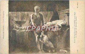 Postcard Old Stone narcissus 1283 Baron Guerin (1774 1833) return