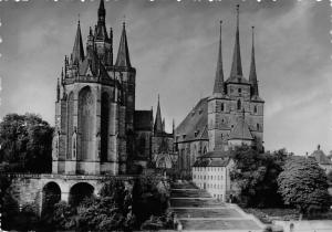Erfurt Cathedral Church, Dom und Severikirche Eglise