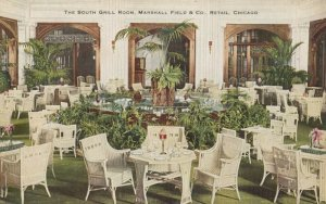 CHICAGO , Illinois, 1900-10s ; South Grill , Marshal Field Company