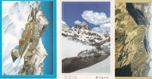 Pirin Mountains Bulgaria 3x Postcard s