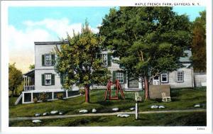 GAYHEAD, NY New York    MAPLE FRENCH FARM    c1920s    Postcard