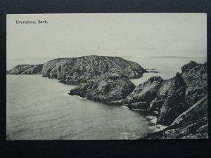 Channel Island SARK Brecqhou - Old Postcard by John P. De Carteret of Sark