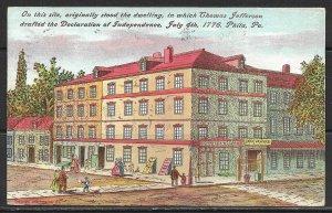 Pennsylvania, Philadelphia - Declaration Of Independence Site - [PA-240]