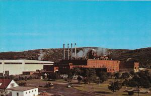 Paper Mill , Baie Comeau , Quebec , Canada , 50-60s View Type 2