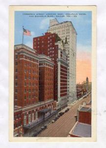Commerce Street Looking East, Adolphus Hotel & Magnolia Bldg, Dallas, Texas, ...