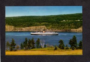 NS Princess Helene Ferry Boat Saint St John NB Digby Nova Scotia Carte Postale