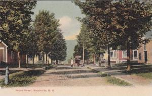 Scenic view of Maple Street, Woodsville, New Hampshire, 00-10s