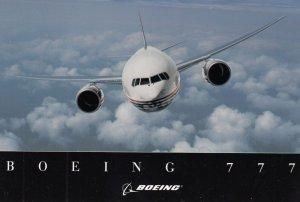 Boeing 777 Jet Airplane