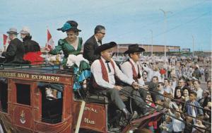 Klondike Stage Coach,  Edmonton,   Alberta,  Canada,   40-60s