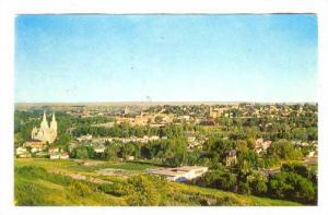 Skyline View, Medicine Hat, Alberta, Canada, PU-1964