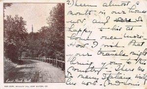 East Rock Park, New Haven, Connecticut, 1898 Private Mailing Card, Used in 1902