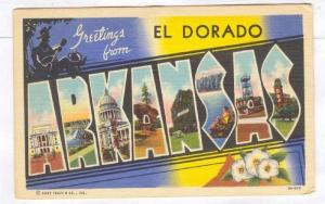 Greetings from El Dorado, Arkansas, 30-40s