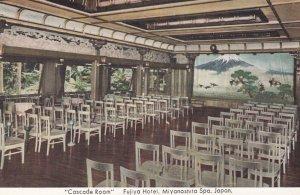 Fujiya Hotel , Miyanoshita Spa , Japan , 1930-40s ; Cascade Room