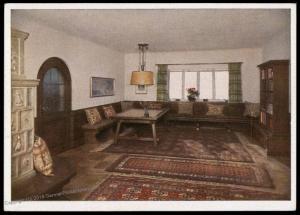 3rd Reich Berghof Wachenfeld Hitlers House at Obersalzberg Hoffmann PPC 78397