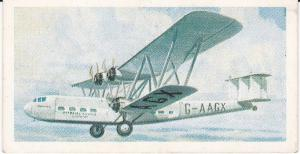 Trade Cards Brooke Bond Tea Transport Through The Ages No 37 Early Airliner