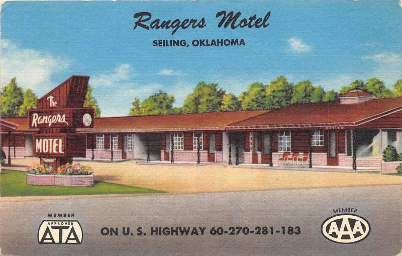 Seiling motel seiling ok