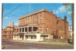 Street view showing Manoir Drummond, Drummondville, Quebec, Canada, 40-60s