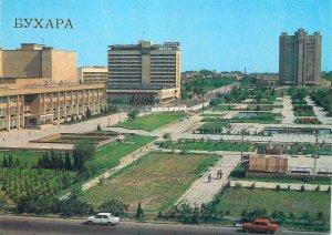 Postcard Uzbekistan Bukhara city center image