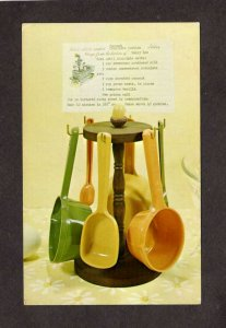 IA Measure Maid Kitchen Products Handcraft Institute Des Moines Iowa Postcard