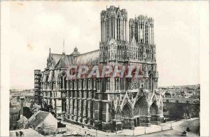 Old Postcard The Cathedral of Reims
