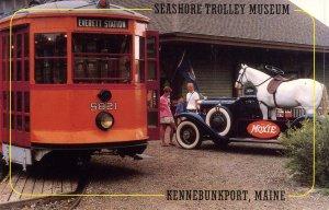 Trolley - Seashore Trolley System, Kennebunkport, ME   (mary jaynes series)