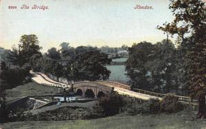 The Bridge, Hendon, London, England, Early Postcard, Unused