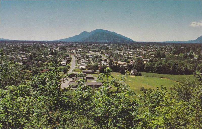 Scenic view, Chilliwack Panorama,  B.C., Canada, 40-60s