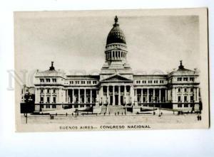 133035 ARGENTINA Buenos Aires Congreso national Vintage photo