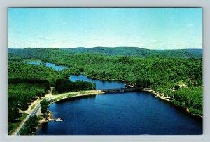 Ontario- Canada, Oxtongue Lake, Algonquin Park, Chrome Postcard