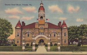 County Court House Pulaski Virginia