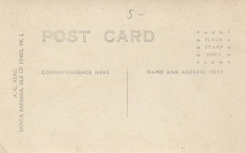 RP; ISLE OF PINES, Cuba , 1900-10s; South Coast