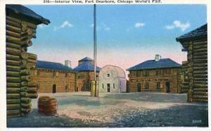IL - Chicago World's Fair 1933 - Replica of Fort Dearborn