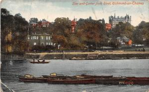Star and Garter from River, Richmond on Thames Boats 1917