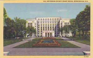 Jefferson County Court House, Birmingham, Alabama, 30-40s