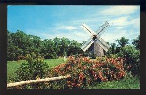 Eastham, Massachusetts/MA Postcard, Windmill, Across King's Highway Cape Cod