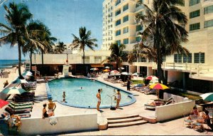 Florida Miami Beacj The Crown Hotel 1959