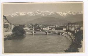 RP, View Of Grenoble, Bridge, Grenoble (Isere), France, 20-40s