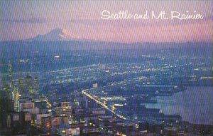 Seattle And Mount Rainier Seattle Washington