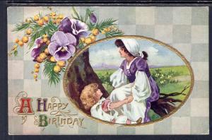 A Happy Birthday,Woman,Girl