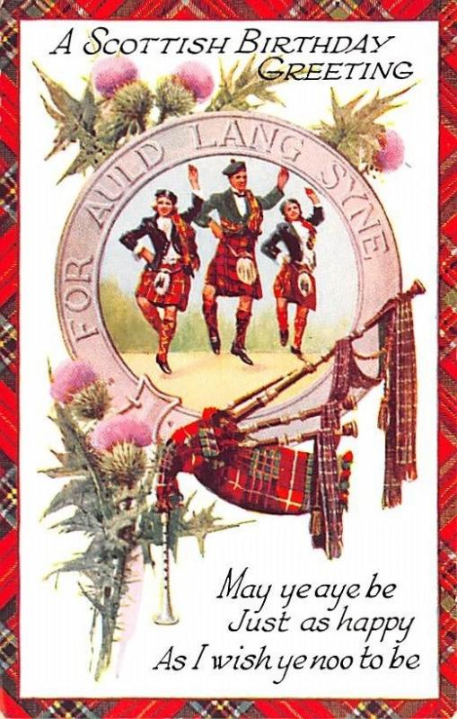 Scotland uk postcard scottish birthday greeting hippostcard scotland uk postcard scottish birthday greeting m4hsunfo