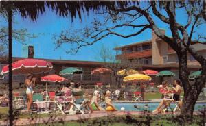 Fort Worth Texas~Western Hills Hotel-Swimming Pool~Bathing Beauties~1950s Pc