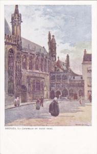 BRUGES, West Flanders, Belgium, 1900-1910´s; La Chapelle Du Saint Sang