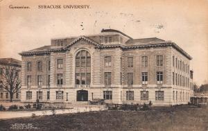 Gymnasium, Syracuse University, Syracuse, N.Y.,  Early Postcard, Used in 1916