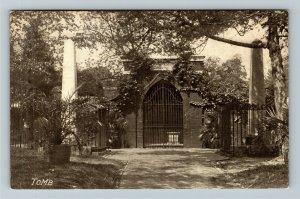Mount Vernon VA-Virginia, George Washington Family Tomb, Vintage Postcard